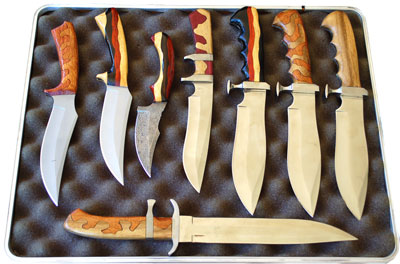 Custom knives at Erics Custom Knife Company - We Make Quality Knives!